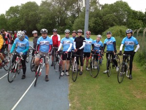 55ers at the start (Alan and Graham where are you?!)